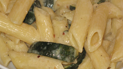 feast with bron: Penne with Zucchini & Mascarpone