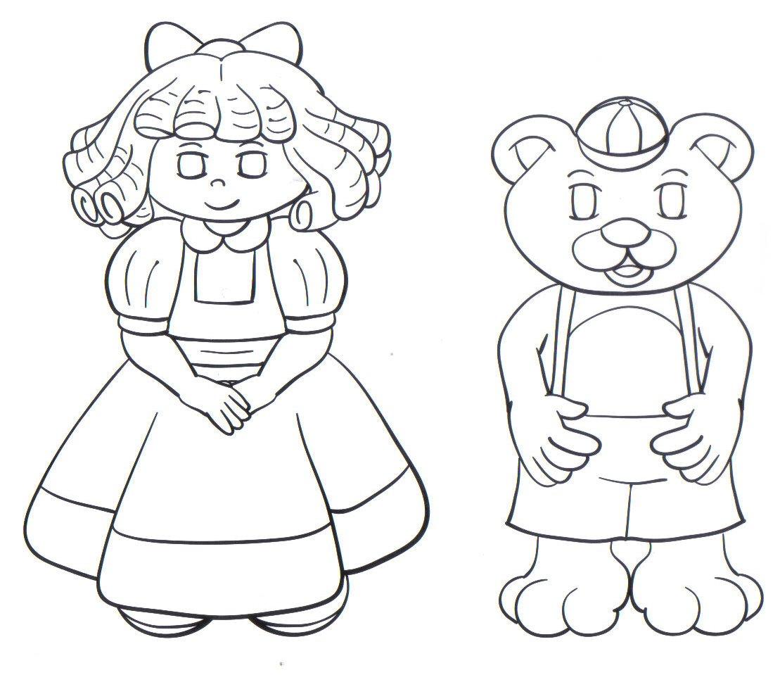 imagens para colorir familia urso