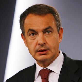 José Luis Rodríguez Zapatero hoy en la presentación de las medidas