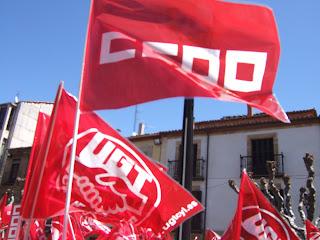 Manifestación 1 de mayo en Soria.FLM