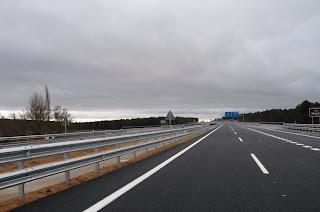 Autovía Soria - Almazán (A . 15 ). Foto Félix Lavilla