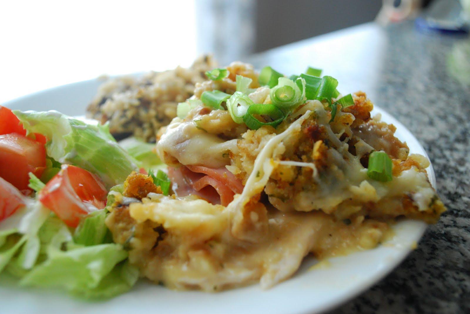 Eat Your Veggies, Peas: Easy Chicken Cordon Blue