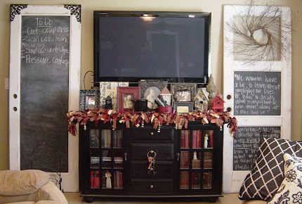 Chippy Chalkboard Doors (SOLD)