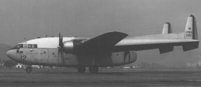 Os vagoes da Força Aérea Brasileira C--119G+FAB