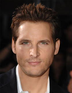 I love you Peter Facinelli.  You are no Ben Affleck, but you'll do.