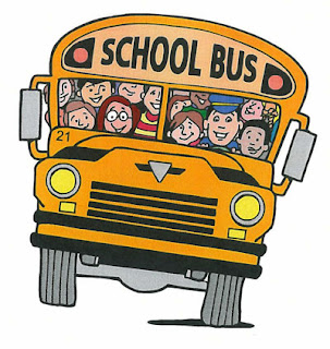 BLAH!  I HATE YOU, SCHOOL BUS!  I HATE THE SOUNDS YOU MAKE!