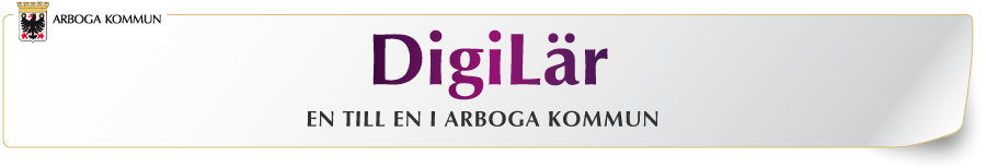DigiLär - En till en i Arboga kommun