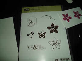 Clear-mont rubber stamp sets