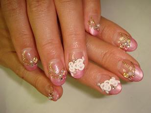 Beautiful Nail Art Nail Art Design For Wedding