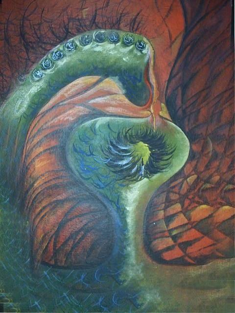 EL PRINCIPIO DE LA VIDA... la forma y el color que no podemos ver, que solo podemos  imaginar ...
