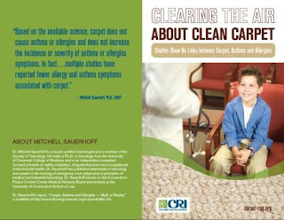 Studies Show No Links between Carpet, Asthma and Allergies