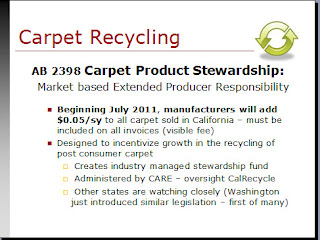 Environmental Laws Affecting Flooring: Carpet & AB 2398 at Surfaces 2011