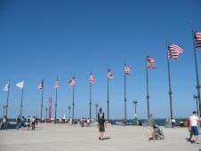 Navy Pier Flags