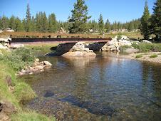 Bridge over Tuolumne River to Parsons Lodge