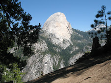 Half Dome on the other side.