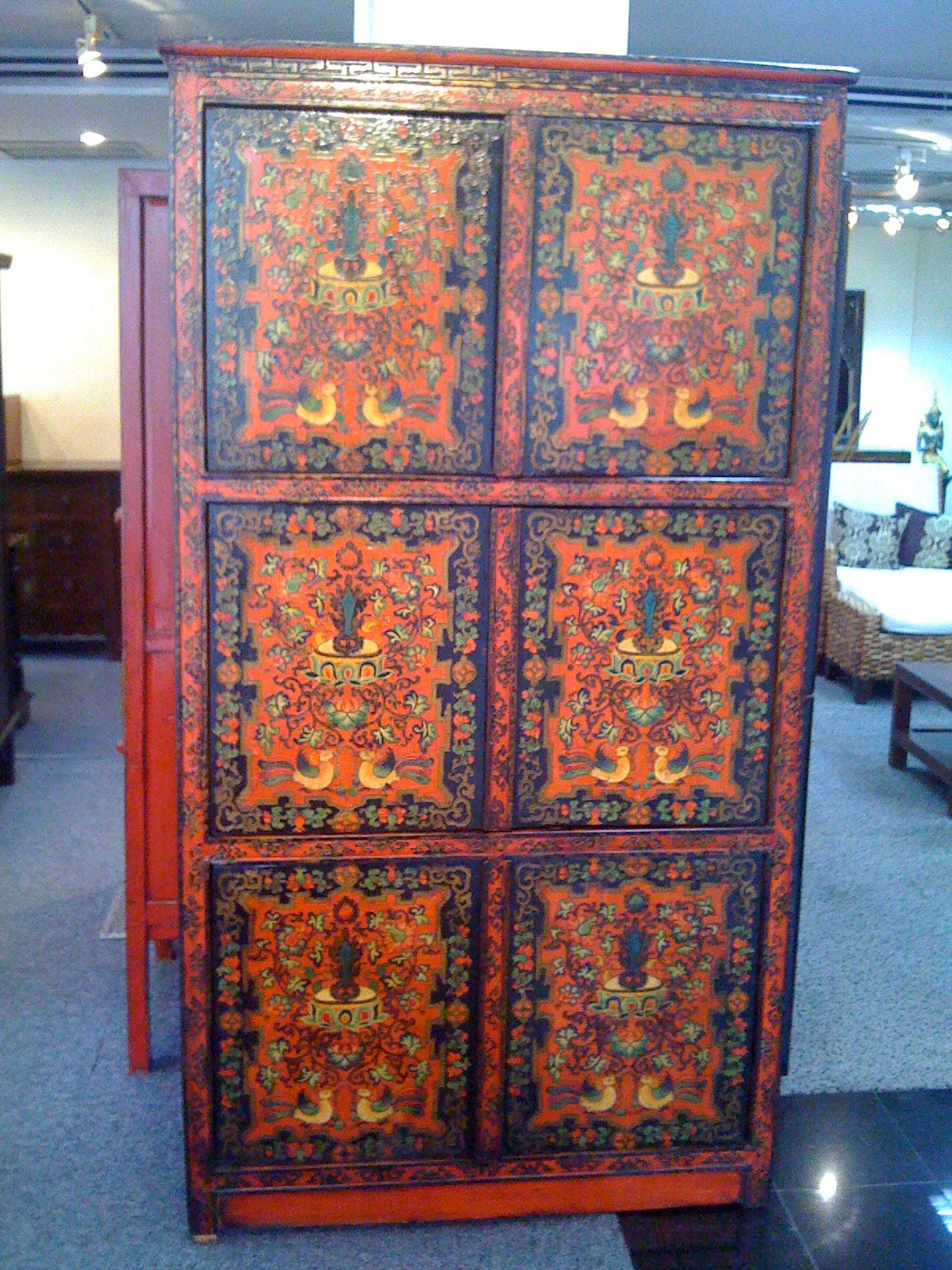 Estilo Asi Tico # Muebles Tibetanos