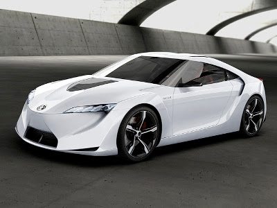 Toyota FT HS Hybrid Sports Car