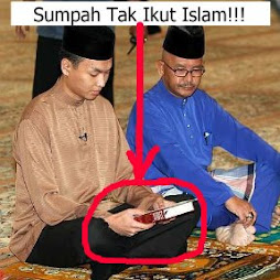 Sumpah Saiful Tidak Ikut Cara Islam