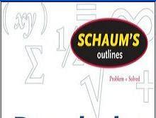 سلسلة شوم التعليمية Collection of Schaum's Outlines