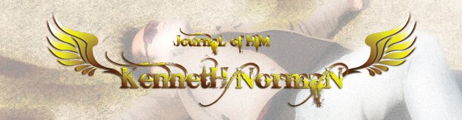 KennetH NormaN - JournaL of HiM