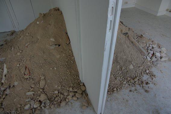 la montagne dans un des appartements de Perrine Lacroix