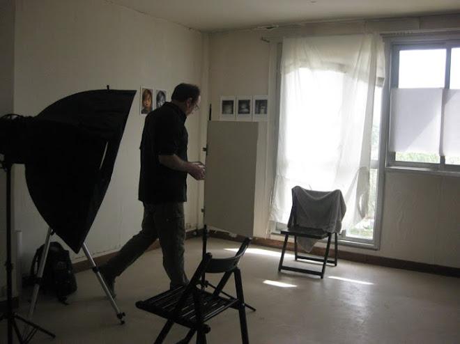 le studio de Dominique au 10, 2ème