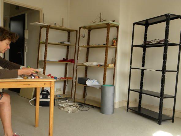 l'appartement-atelier d'Alexandra Sà
