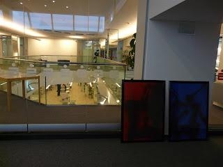 Aufbau in letzter Minute - Brendemühl Ausstellung X