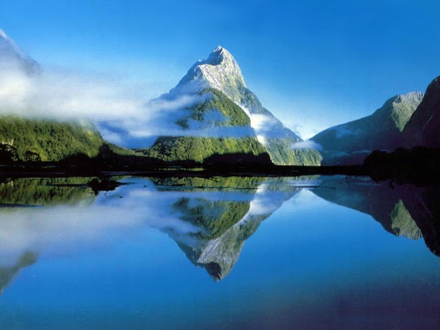 Nature wallpaper mountain and lakes