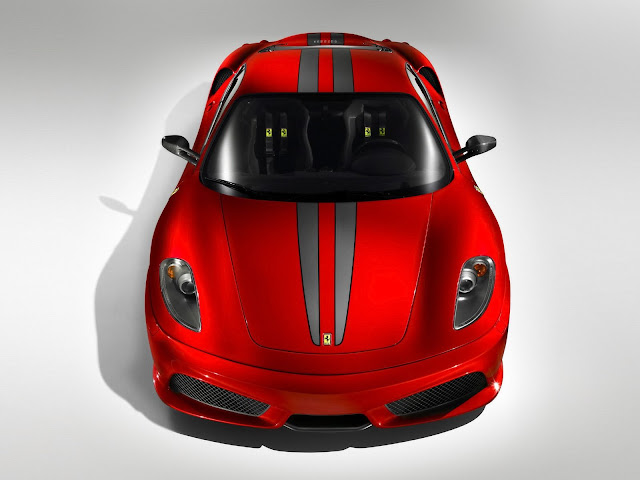Red Ferrari 430 Scuderia Wallpaper