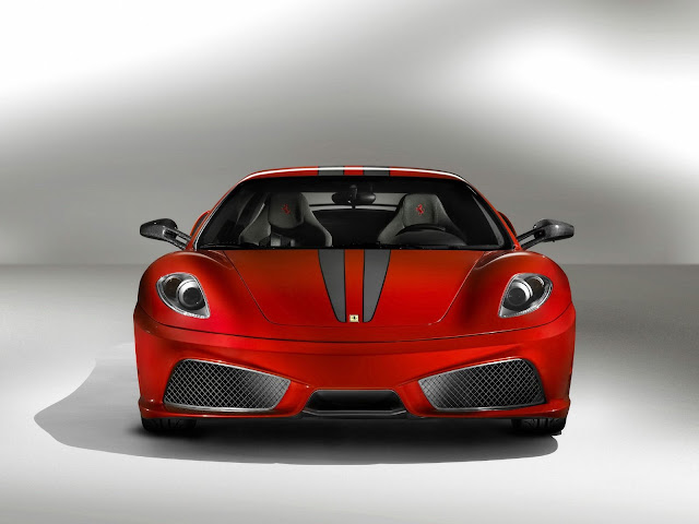 Front Red Ferrari 430 Scuderia Wallpaper