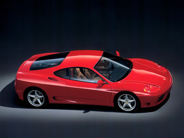Red Ferrari 360 Modena Wallpaper