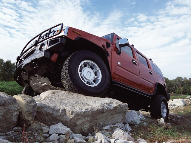 Hummer H2 Offroad Desktop Wallpaper