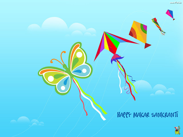 Kite Happy makar sankranti wallpaper