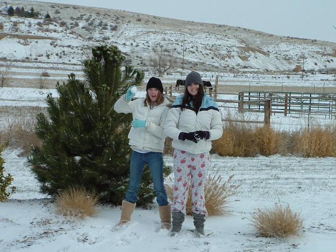 Macy's Strawberry Shortcake PJ's make great snow pants!