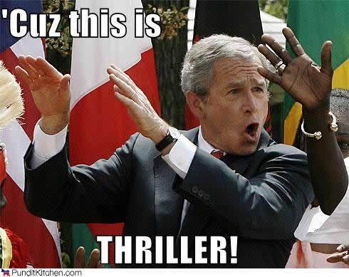 george bush thriller loyola new orleans economics club