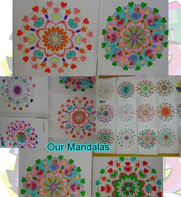 Math - easy and interesting: Geometric Mandalas
