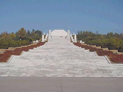 Tomb of Tangun, from http://www.panoramio.com/photo/2584740