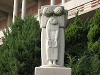 statue of tortured martyrs