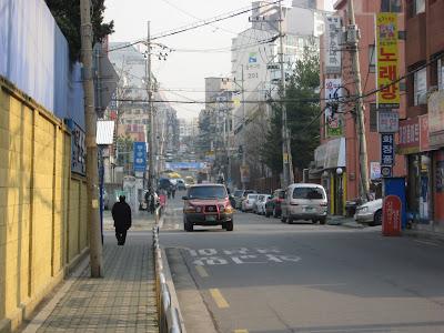 street scene, Deungchon-dong