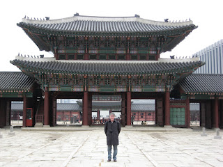 Gavin at Geunjeongmun