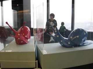 Lee Kyu Min, giant snails sculpture
