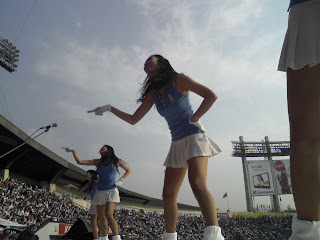 Doosan cheerleader