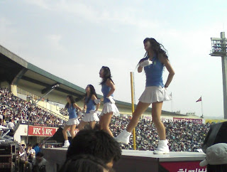 Doosan cheerleaders
