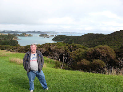 Bay of Islands island walk, at lookout #2