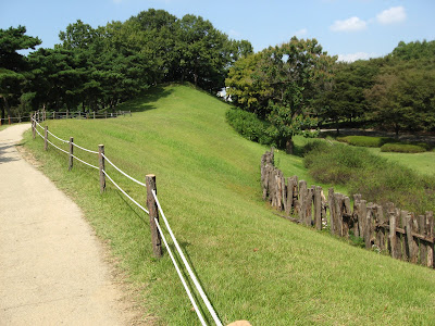 view of part of Mongchon earthen fortress