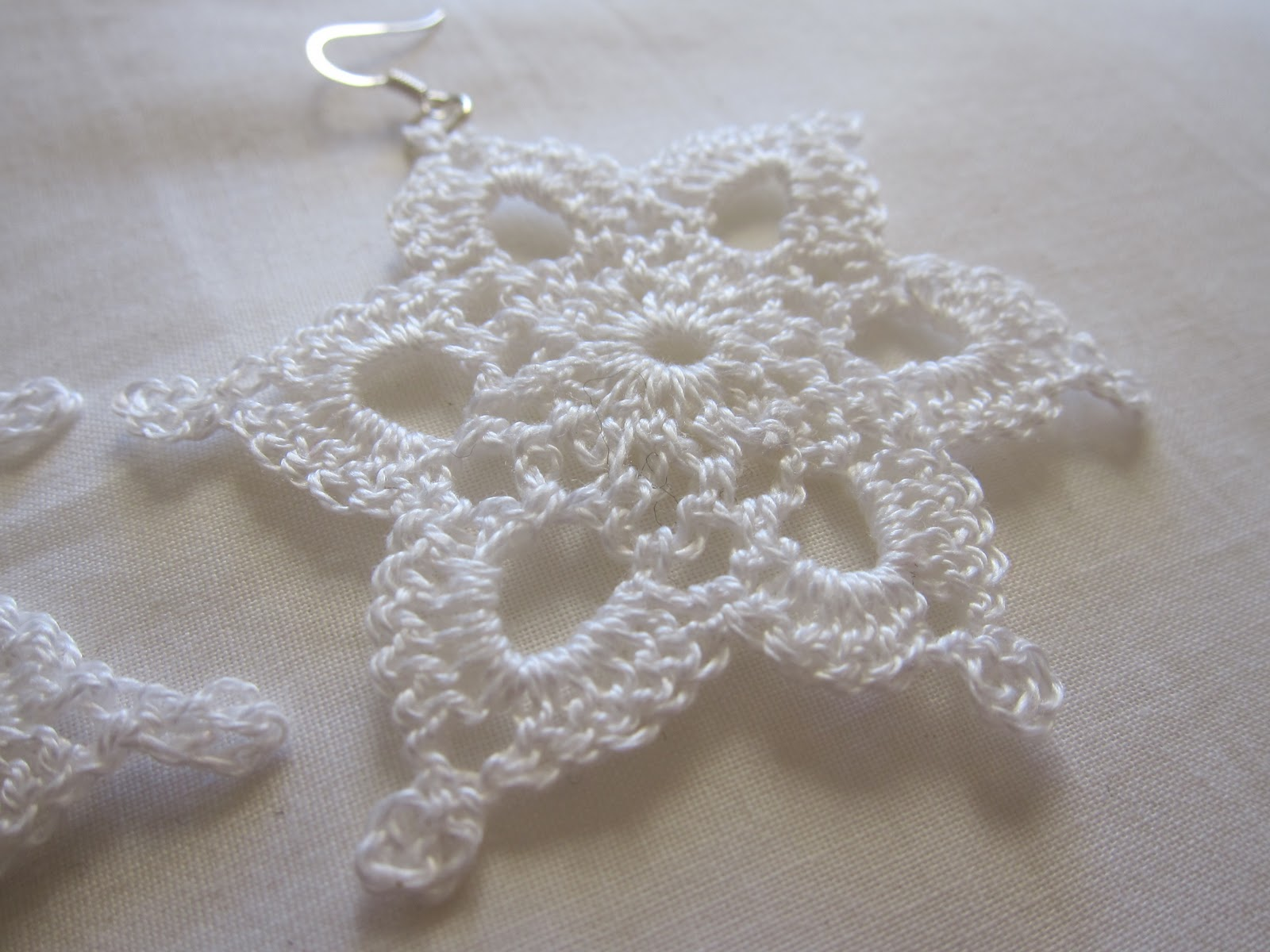 Mel P Designs: Crochet Jewellery