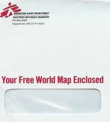 """Direct Mail Marketing Design — """"Doctors Without Borders"""" Gets It Right"""