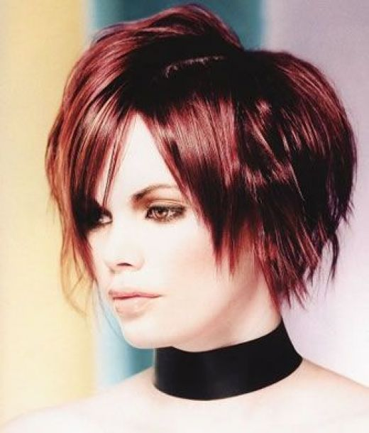 Short hairstyles are trendy in asian like Japan,