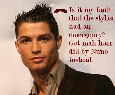Cristiano Ronaldo Hairstyles in 2010 - Real Madrid